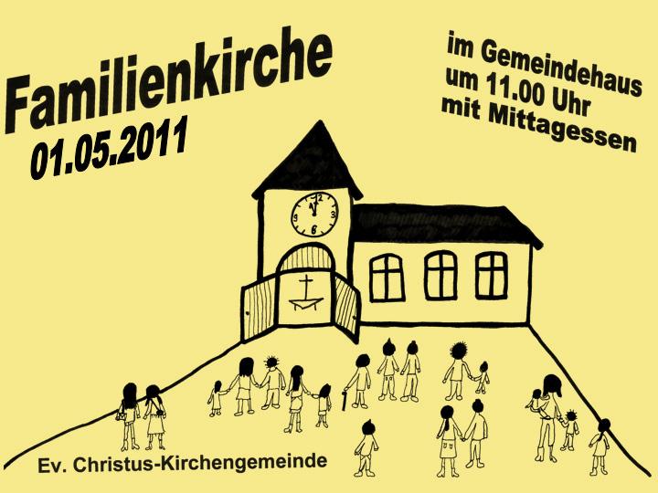 Familienkirche im März