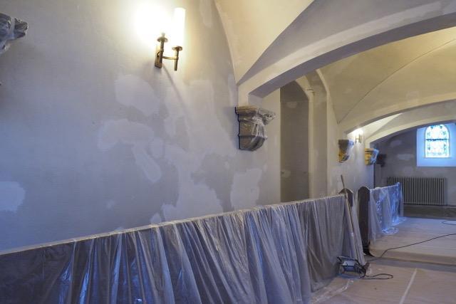 Renovierung der Kirche